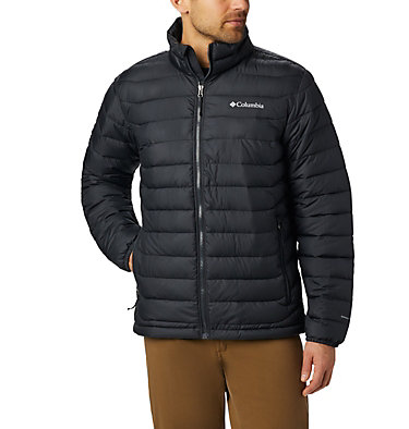Men's Powder Lite™ Jacket – Tall Powder Lite™ Jacket | 467 | 5XT, Black, front
