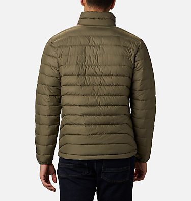 Men's Powder Lite™ Jacket – Tall Powder Lite™ Jacket | 467 | 5XT, Stone Green, back