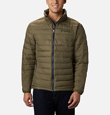 Men's Powder Lite™ Jacket – Tall Powder Lite™ Jacket | 467 | 5XT, Stone Green, front