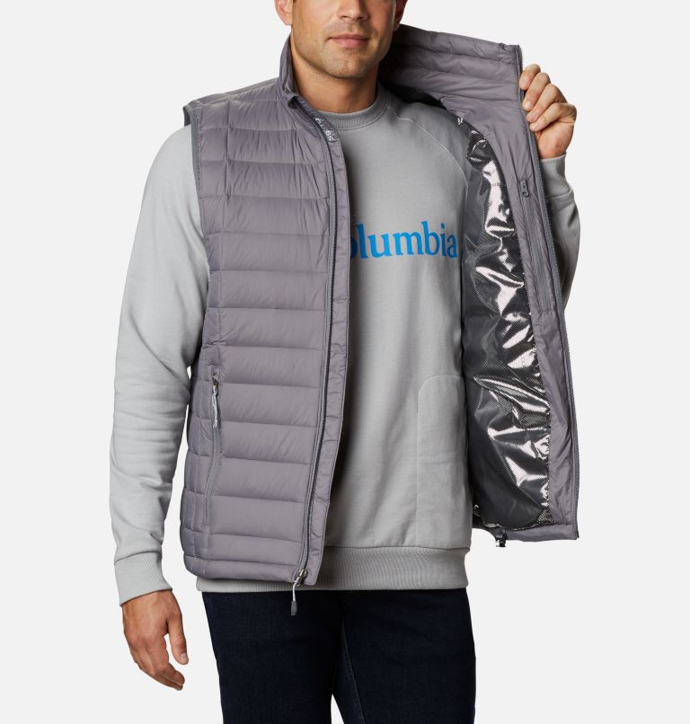 Voodoo Falls™ 590 TurboDown™ Vest | 023 | XL Men's Voodoo Falls™ 590 TurboDown™ Vest, City Grey, a3