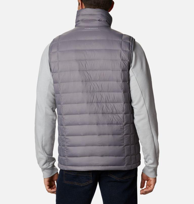 Voodoo Falls™ 590 TurboDown™ Vest | 023 | XL Men's Voodoo Falls™ 590 TurboDown™ Vest, City Grey, back