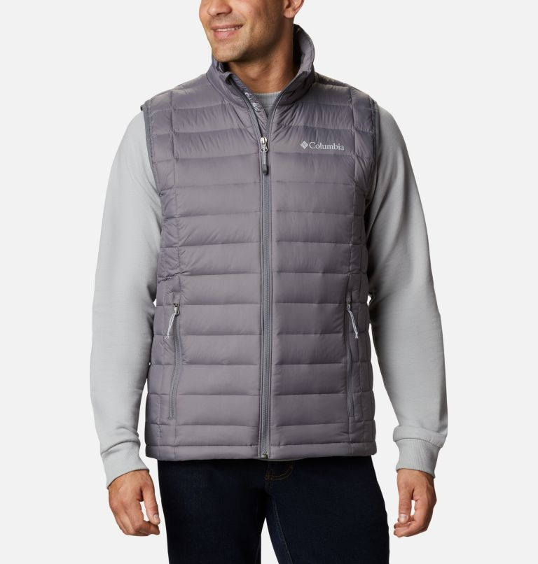 Voodoo Falls™ 590 TurboDown™ Vest | 023 | L Men's Voodoo Falls™ 590 TurboDown™ Vest, City Grey, front