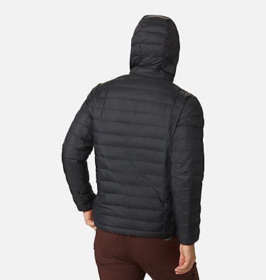 Men's Voodoo Falls™ 590 TurboDown™ Hooded Puffer Jacket Voodoo Falls™ 590 TurboDown™ Hooded Jkt | 010 | L, Black, back