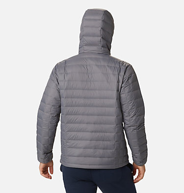 Men's Voodoo Falls™ 590 TurboDown™ Hooded Puffer Jacket Voodoo Falls™ 590 TurboDown™ Hooded Jkt | 820 | L, City Grey, back
