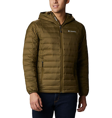 Men's Voodoo Falls™ 590 TurboDown™ Hooded Puffer Jacket Voodoo Falls™ 590 TurboDown™ Hooded Jkt | 820 | L, New Olive, front