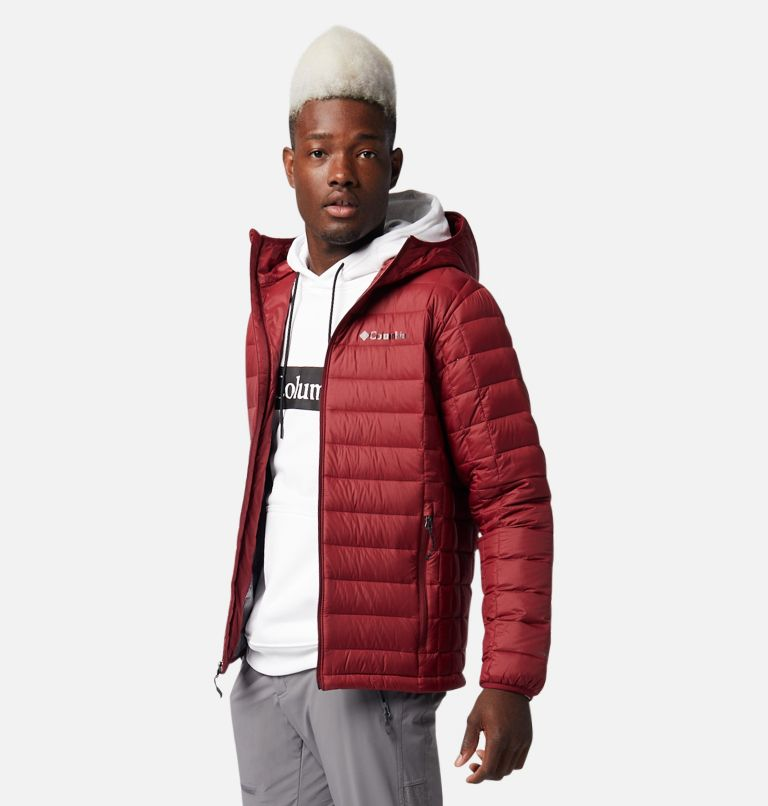 Voodoo Falls™ 590 TurboDown™ Hooded Jkt | 664 | XXL Men's Voodoo Falls™ 590 TurboDown™ Hooded Puffer Jacket, Red Jasper, a1