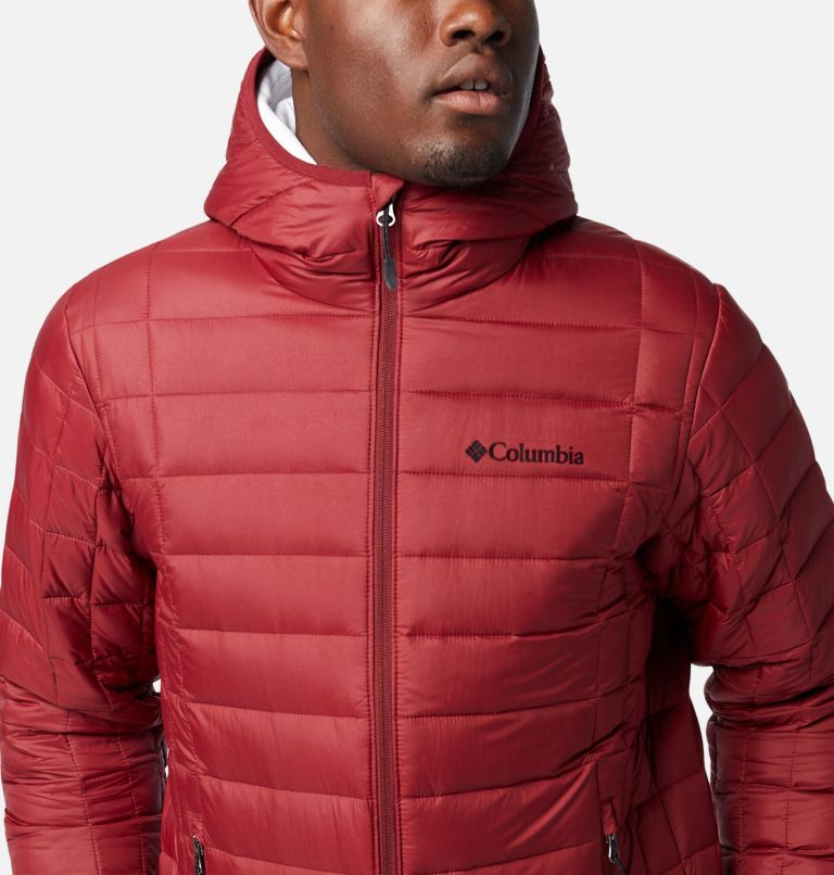 Voodoo Falls™ 590 TurboDown™ Hooded Jkt | 664 | XXL Men's Voodoo Falls™ 590 TurboDown™ Hooded Puffer Jacket, Red Jasper, a2