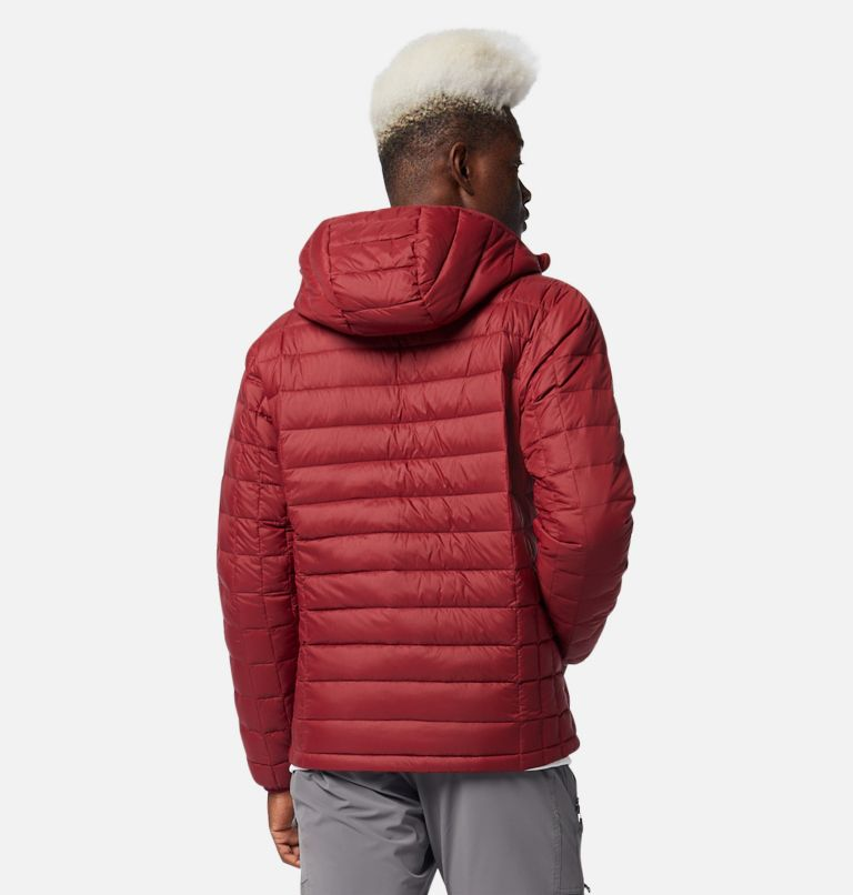 Voodoo Falls™ 590 TurboDown™ Hooded Jkt | 664 | XXL Men's Voodoo Falls™ 590 TurboDown™ Hooded Puffer Jacket, Red Jasper, back