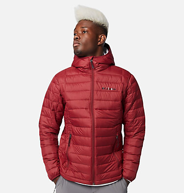 Men's Voodoo Falls™ 590 TurboDown™ Hooded Puffer Jacket Voodoo Falls™ 590 TurboDown™ Hooded Jkt | 820 | L, Red Jasper, front
