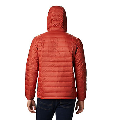 Men's Voodoo Falls™ 590 TurboDown™ Hooded Puffer Jacket Voodoo Falls™ 590 TurboDown™ Hooded Jkt | 820 | L, Carnelian Red, back