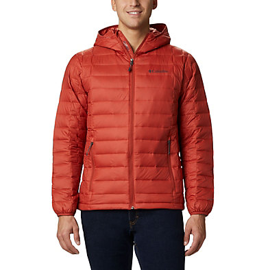 Men's Voodoo Falls™ 590 TurboDown™ Hooded Puffer Jacket Voodoo Falls™ 590 TurboDown™ Hooded Jkt | 820 | L, Carnelian Red, front