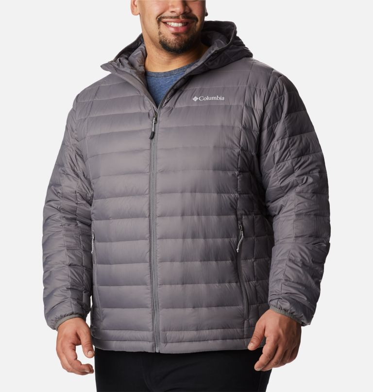Voodoo Falls™ 590 TurboDown™ Hooded Jkt | 023 | 2X Men's Voodoo Falls 590 TurboDown™ Hooded Jacket - Big, City Grey, front