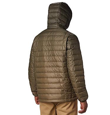Men's Voodoo Falls 590 TurboDown™ Hooded Jacket - Big Voodoo Falls™ 590 TurboDown™ Hooded Jkt | 820 | 3X, Olive Green Topo Fade Print, back