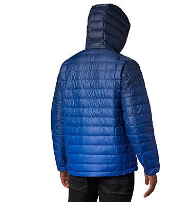 Men's Voodoo Falls 590 TurboDown™ Hooded Jacket - Big Voodoo Falls™ 590 TurboDown™ Hooded Jkt | 820 | 3X, Azul Topo Fade Print, back