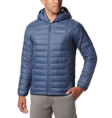Men's Voodoo Falls 590 TurboDown™ Hooded Jacket - Big Voodoo Falls™ 590 TurboDown™ Hooded Jkt | 023 | 2X, Dark Mountain, front