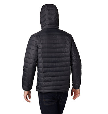 Men's Voodoo Falls 590 TurboDown™ Hooded Jacket - Tall Voodoo Falls™ 590 TurboDown™ Hooded Jkt | 820 | 3XT, Black, back