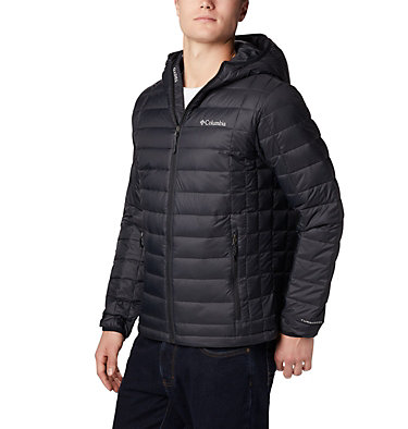 Men's Voodoo Falls 590 TurboDown™ Hooded Jacket - Tall Voodoo Falls™ 590 TurboDown™ Hooded Jkt | 820 | 3XT, Black, front
