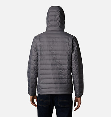 Men's Voodoo Falls 590 TurboDown™ Hooded Jacket - Tall Voodoo Falls™ 590 TurboDown™ Hooded Jkt | 820 | 3XT, City Grey, back