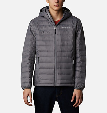 Men's Voodoo Falls 590 TurboDown™ Hooded Jacket - Tall Voodoo Falls™ 590 TurboDown™ Hooded Jkt | 820 | 3XT, City Grey, front
