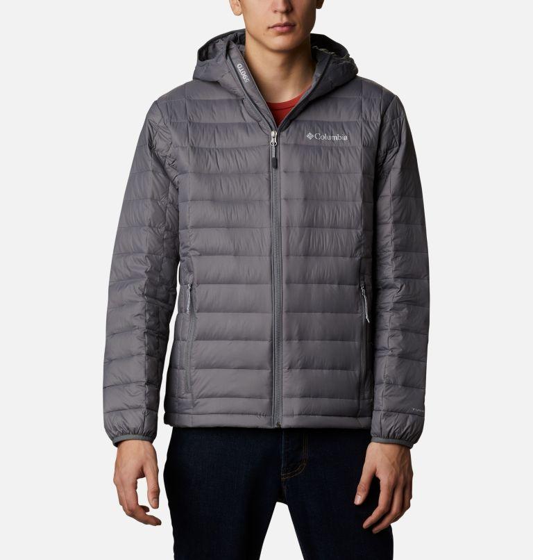 Voodoo Falls™ 590 TurboDown™ Hooded Jkt   023   3XT Men's Voodoo Falls 590 TurboDown™ Hooded Jacket - Tall, City Grey, front