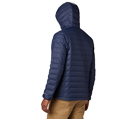 Men's Voodoo Falls 590 TurboDown™ Hooded Jacket - Tall Voodoo Falls™ 590 TurboDown™ Hooded Jkt | 820 | 3XT, Collegiate Navy, back