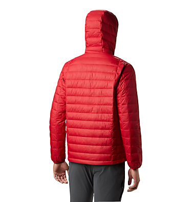 Men's Voodoo Falls 590 TurboDown™ Hooded Jacket - Tall Voodoo Falls™ 590 TurboDown™ Hooded Jkt | 023 | XLT, Mountain Red, back