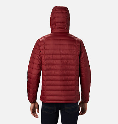 Men's Voodoo Falls 590 TurboDown™ Hooded Jacket - Tall Voodoo Falls™ 590 TurboDown™ Hooded Jkt | 820 | 3XT, Red Jasper, back
