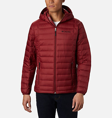 Men's Voodoo Falls 590 TurboDown™ Hooded Jacket - Tall Voodoo Falls™ 590 TurboDown™ Hooded Jkt | 820 | 3XT, Red Jasper, front