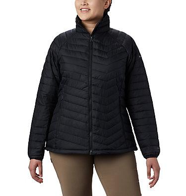 Women's Powder Lite™ Jacket - Plus Size Powder Lite™ Jacket | 472 | 2X, Black, front