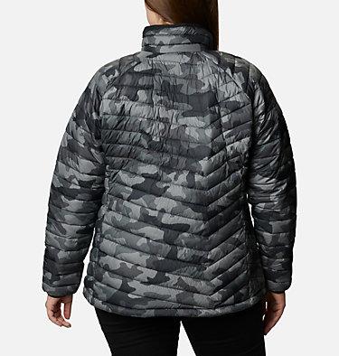 Manteau Powder Lite™ pour femme - Grandes tailles Powder Lite™ Jacket | 012 | 2X, Black Traditional Camo, back