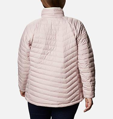 Women's Powder Lite™ Jacket - Plus Size Powder Lite™ Jacket | 472 | 2X, Mineral Pink, back
