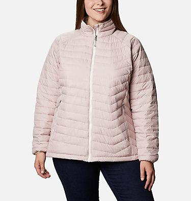 Women's Powder Lite™ Jacket - Plus Size Powder Lite™ Jacket | 472 | 2X, Mineral Pink, front