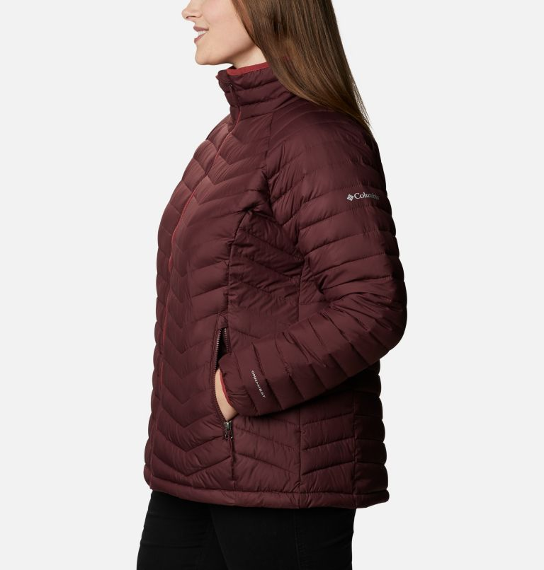 Powder Lite™ Jacket   671   2X Women's Powder Lite™ Jacket - Plus Size, Malbec, a1