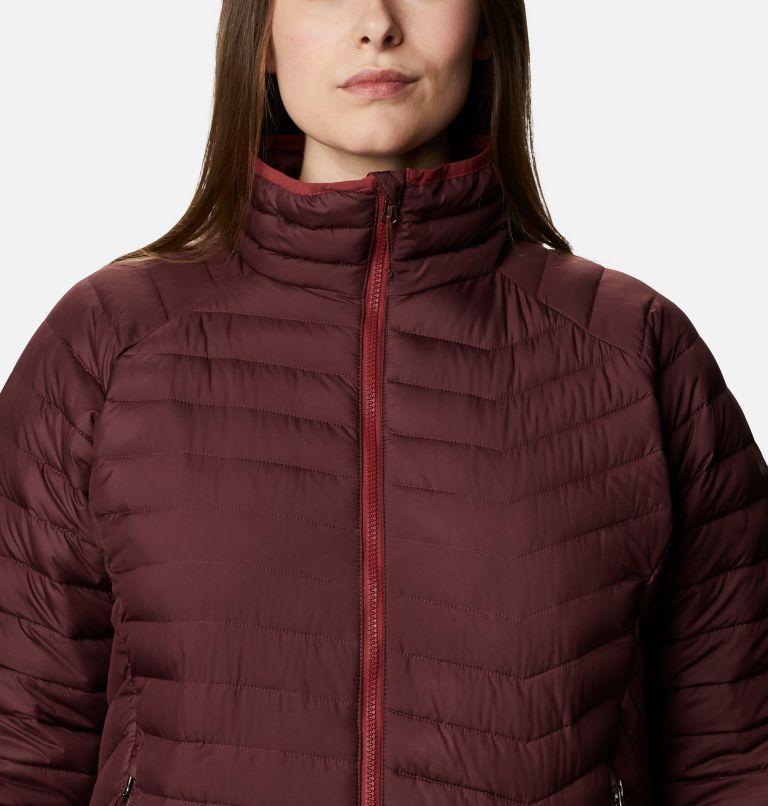 Powder Lite™ Jacket   671   2X Women's Powder Lite™ Jacket - Plus Size, Malbec, a2