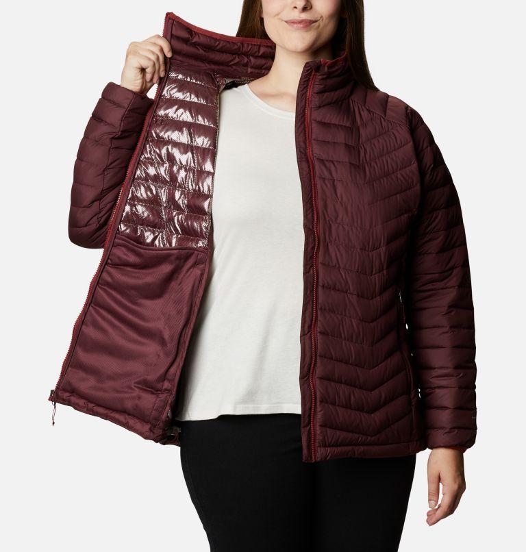 Powder Lite™ Jacket   671   2X Women's Powder Lite™ Jacket - Plus Size, Malbec, a3