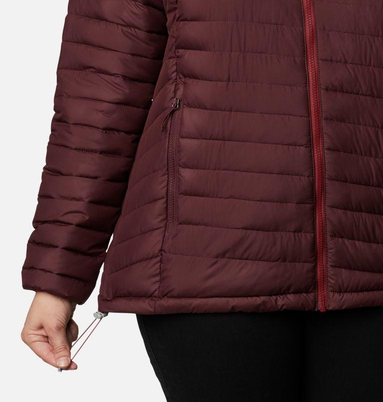 Powder Lite™ Jacket   671   2X Women's Powder Lite™ Jacket - Plus Size, Malbec, a4