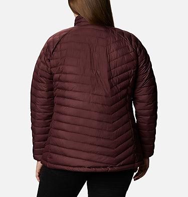 Women's Powder Lite™ Jacket - Plus Size Powder Lite™ Jacket | 472 | 2X, Malbec, back