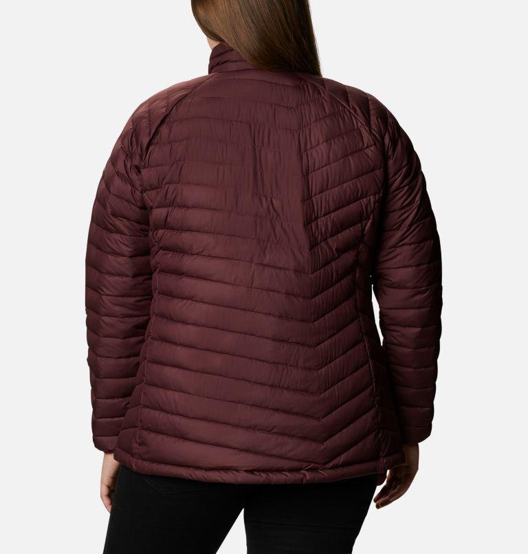 Powder Lite™ Jacket   671   2X Women's Powder Lite™ Jacket - Plus Size, Malbec, back