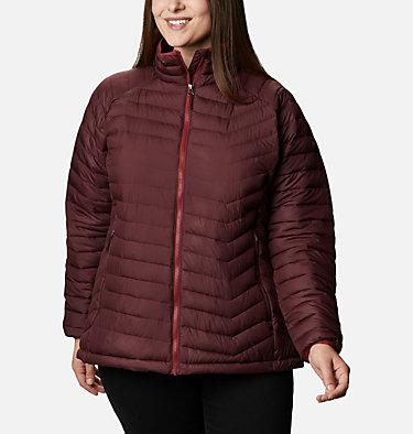 Women's Powder Lite™ Jacket - Plus Size Powder Lite™ Jacket | 472 | 2X, Malbec, front