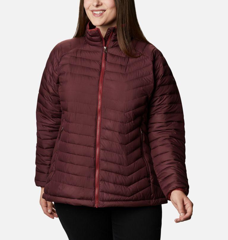 Powder Lite™ Jacket   671   2X Women's Powder Lite™ Jacket - Plus Size, Malbec, front