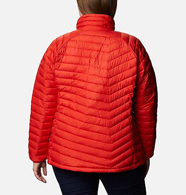 Women's Powder Lite™ Jacket - Plus Size Powder Lite™ Jacket | 472 | 2X, Bold Orange, back