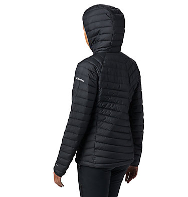 Powder Lite™ Kapuzenjacke für Damen Powder Lite™ Hooded Jacket | 011 | XS, Black, back