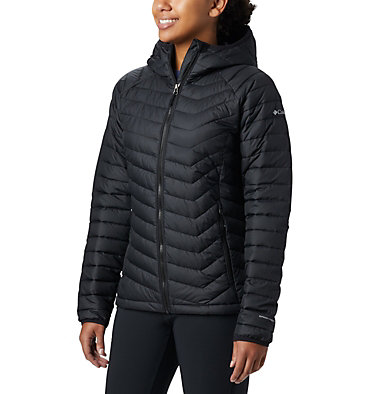Powder Lite™ Kapuzenjacke für Damen Powder Lite™ Hooded Jacket | 011 | XS, Black, front
