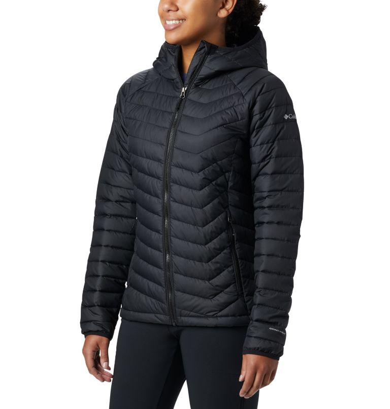 Women's Powder Lite™ Hooded Jacket Women's Powder Lite™ Hooded Jacket, front