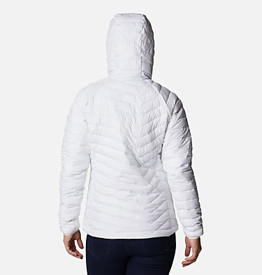 Giacca con cappuccio Powder Lite™ da donna Powder Lite™ Hooded Jacket | 103 | XS, White, back