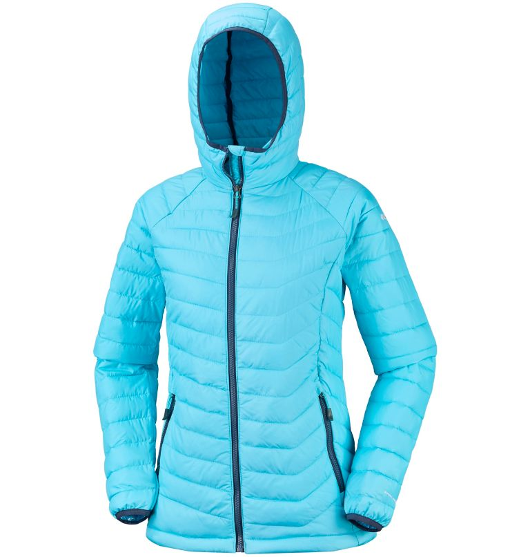 Powder Lite™ Hooded Jacket | 404 | M Women's Powder Lite™ Hooded Jacket, Atoll, a1