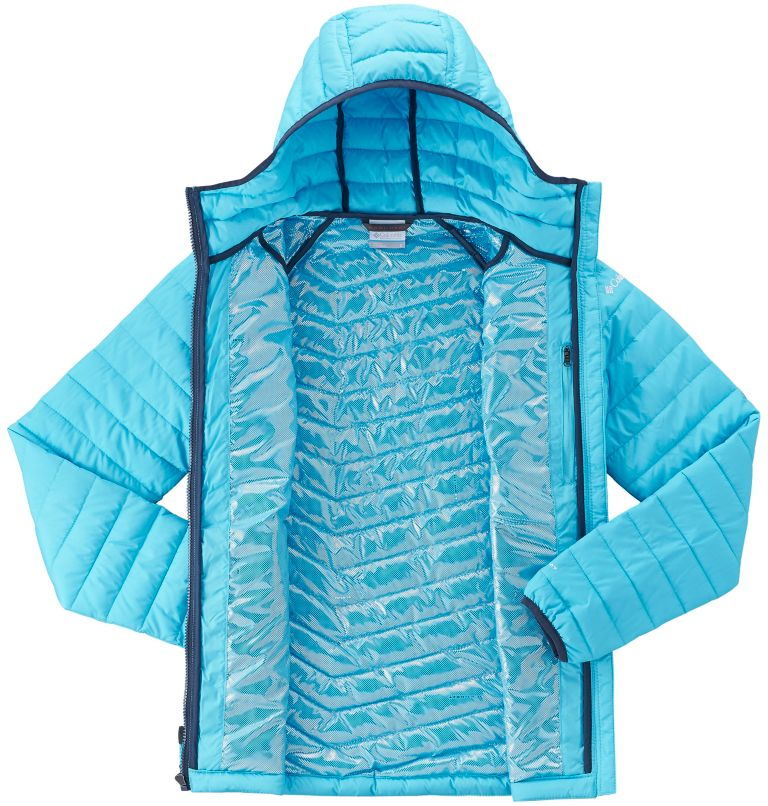 Powder Lite™ Hooded Jacket | 404 | M Women's Powder Lite™ Hooded Jacket, Atoll, a2
