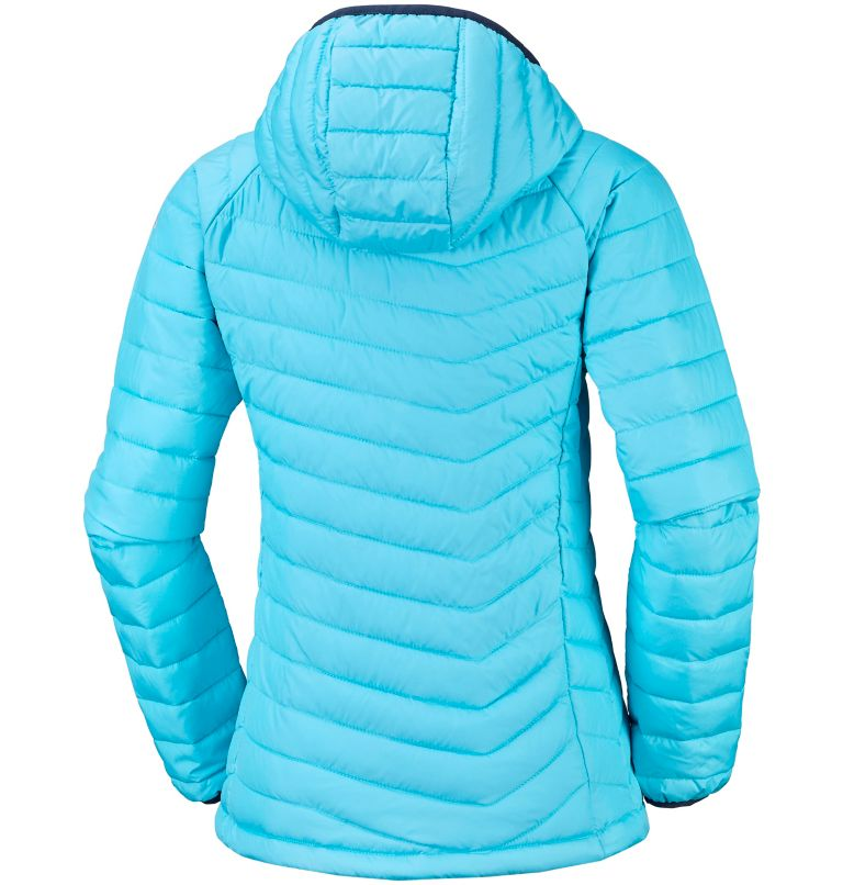Powder Lite™ Hooded Jacket | 404 | M Women's Powder Lite™ Hooded Jacket, Atoll, back