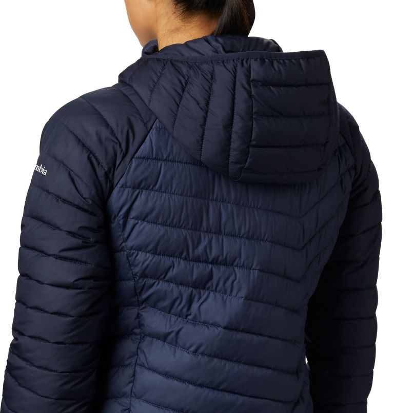 Powder Lite™ Hooded Jacket | 470 | XL Doudoune à Capuche Powder Lite™ Femme, Nocturnal, Dark Nocturnal, a2