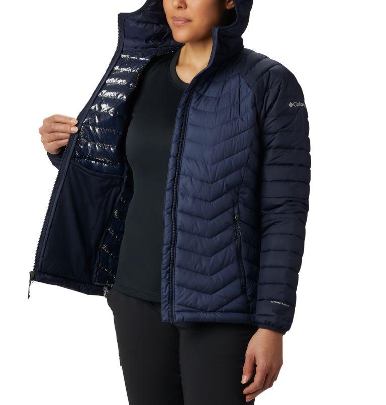 Powder Lite™ Hooded Jacket | 470 | XL Doudoune à Capuche Powder Lite™ Femme, Nocturnal, Dark Nocturnal, a3